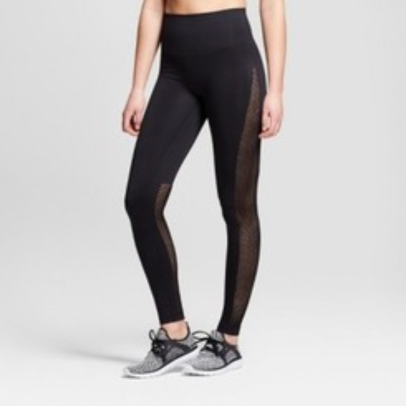 c9ccbb90a7 JoyLab Pants | Womens Seamless 78 High Waist Laser Cut Leggings ...